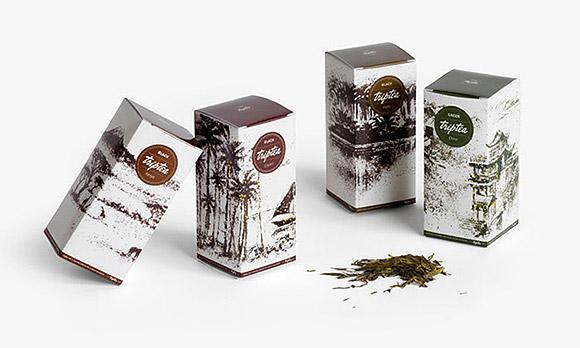 Ilustrações feitas com chá. (11)