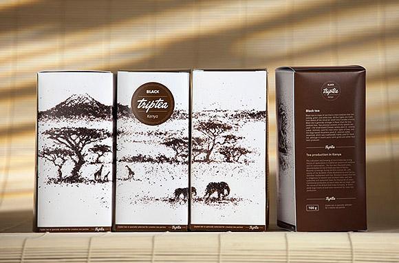 Ilustrações feitas com chá. (9)